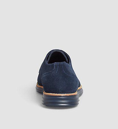 CALVIN KLEIN JEANS Chaussures à lacets en cuir - Sean 0000SE8471NVY