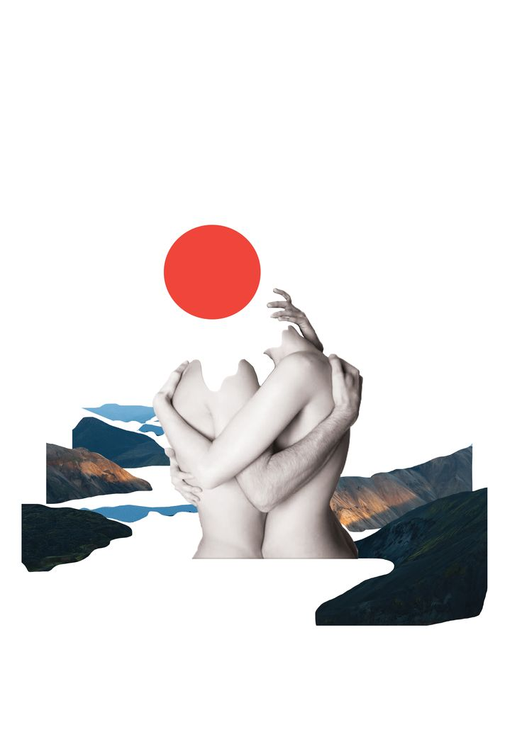 Mountain lovers | Art Print $40 AUD
