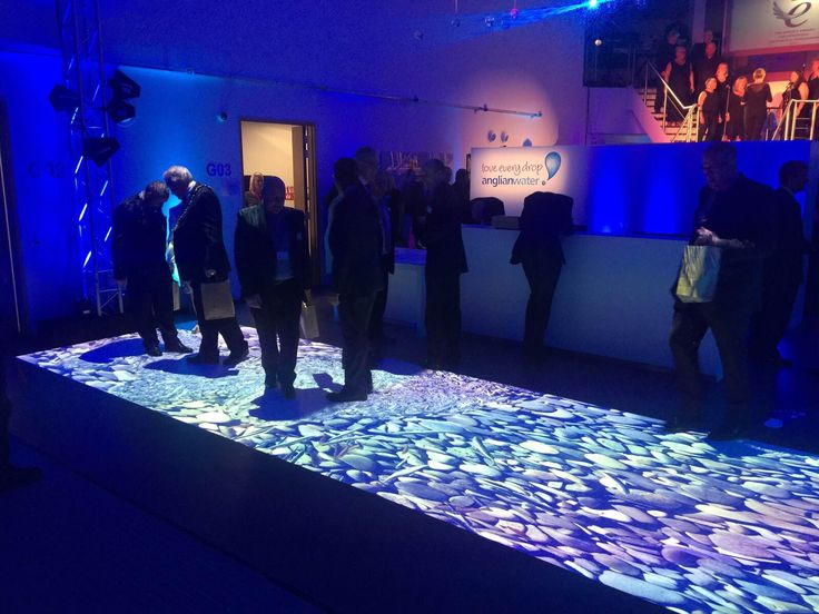 Another look at our interactive floor for Anglian Water #interactive #immersive #experiential