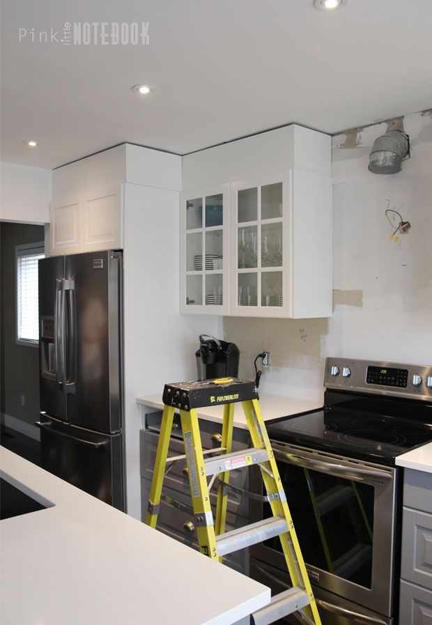 Diy How To Disguise A Kitchen Soffit