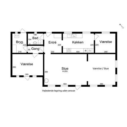 Boligpræsentation - Plantegning - Sagsnr 99123 - Forretningsnr 105468