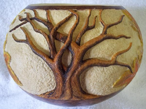 Best gourd art images on pinterest crafts