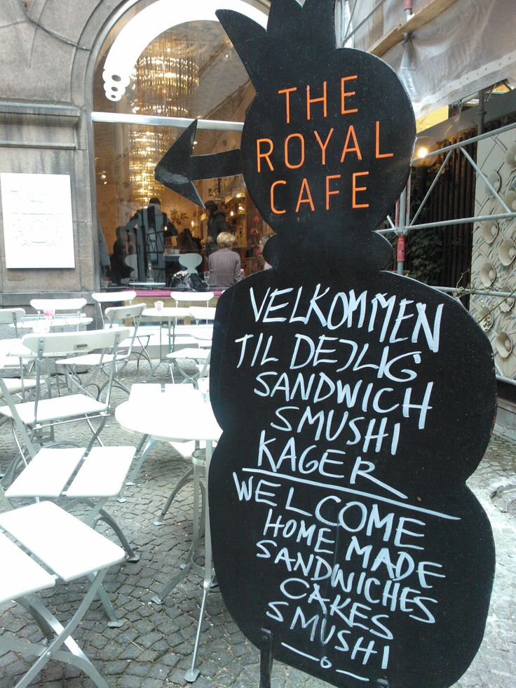 Royal Cafe, Copenhagen. Try the smushies (smørrebrød - open sandwiches - made as sushi) and go shopping in wonderful surroundings. Spotted by @missdesignsays: Owl Cafe, Royals Cafe, Cafe Design, Restaurant, Cafe Copenhagen