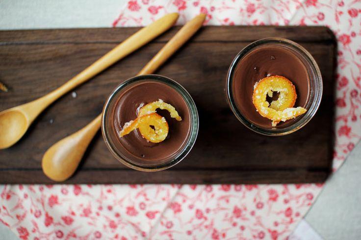 dark chocolate orange pudding | Sweets | Pinterest