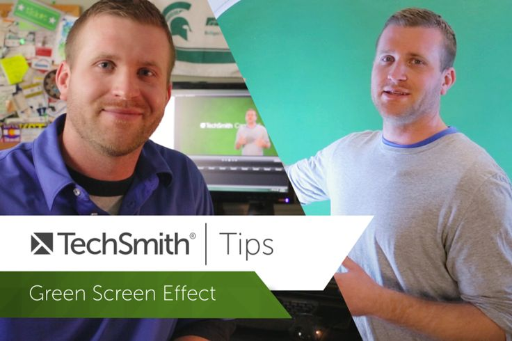 Green screen tips and Tricks from TechSmith