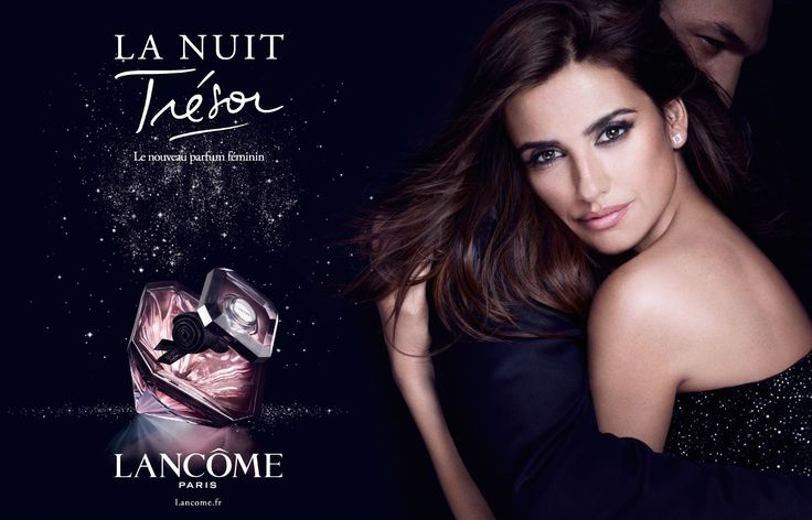 lanc me tresor perfume with penelope cruz perfume fragrance advertising pinterest tresor. Black Bedroom Furniture Sets. Home Design Ideas