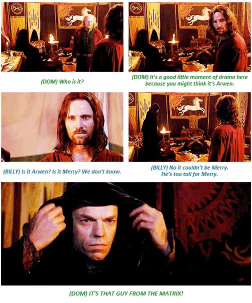 """16 Insightful Gems On """"Lord Of The Rings"""" From The Cast. Dom and Billy are hilarious!"""