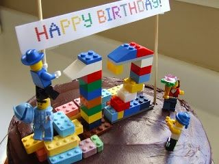easy lego cake | Simple Lego Cake | Evan's Birthday