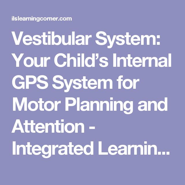 Top 25 best vestibular system ideas on pinterest for Motor planning disorder symptoms