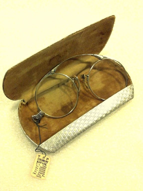 100 yrs Old Eyeglasses Original Tag Pince Nez by BrushCreekCottage 6bcd07d0ffc2