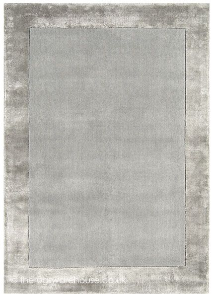 Ascot Silver Rug, A Hand Tufted Wool (inner Section) U0026 Viscose (