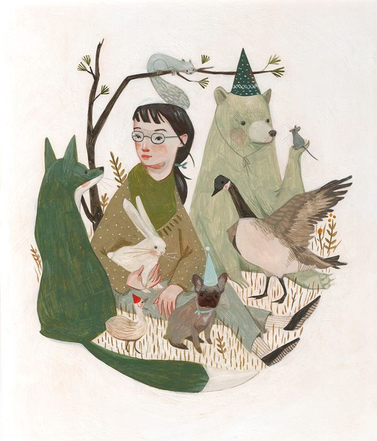 (1) Rebecca Green Illustration