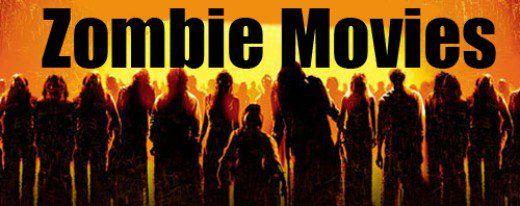 Zombie Movie List