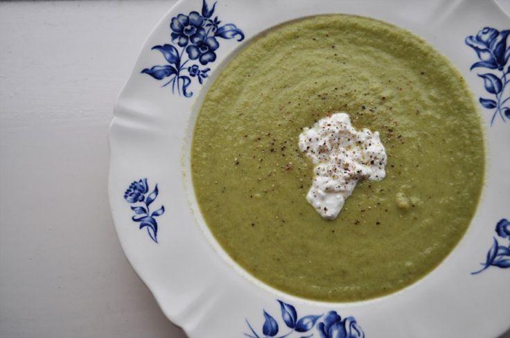 Broccoli avocado soep