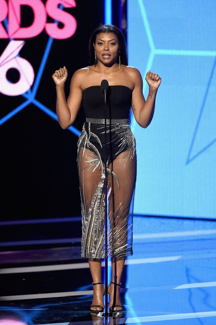 Taraji P. Henson Lit Up the BET Awards in This Jaw-Dropping Skirt