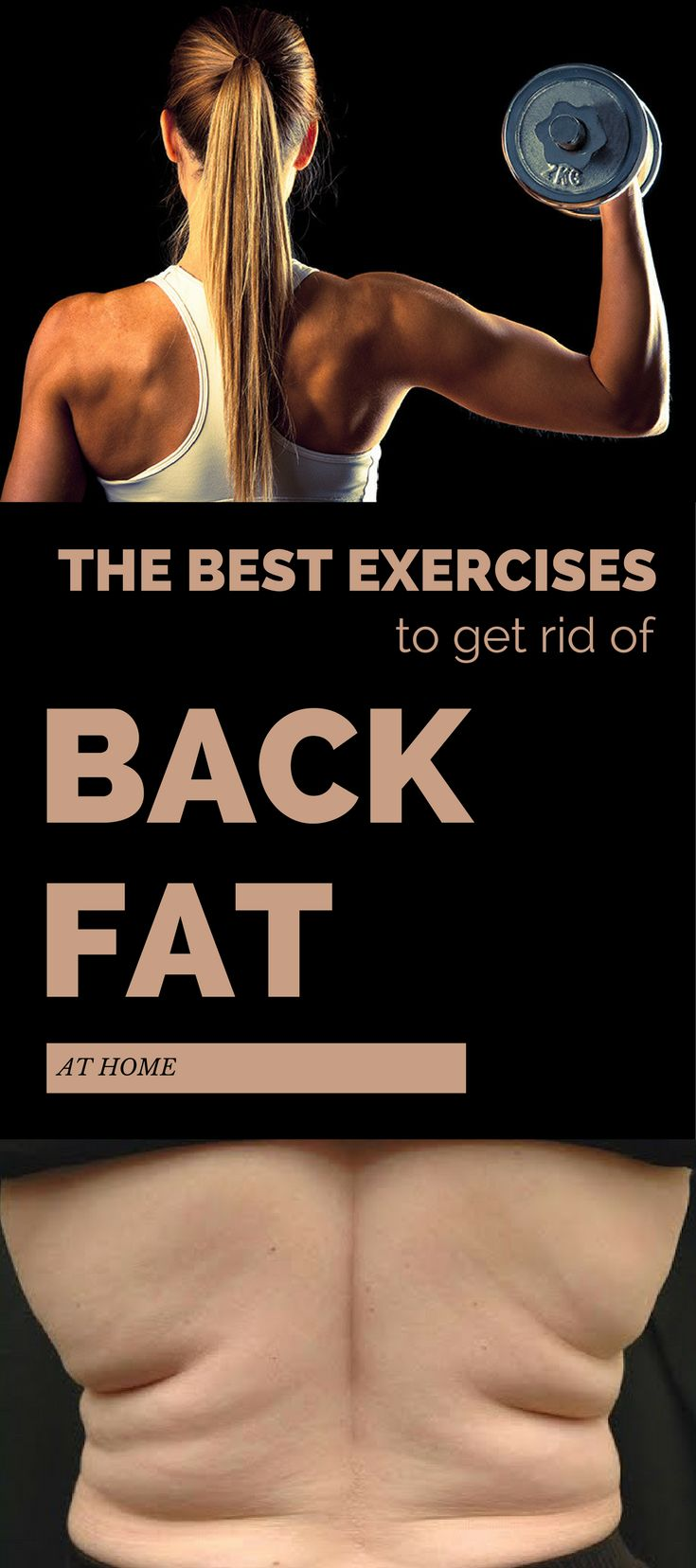 how to get rid of lower back fat with weights