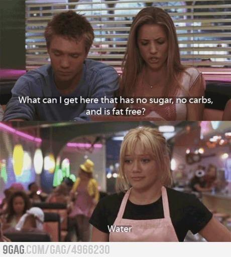 No sugar, no carbs, and is fat free
