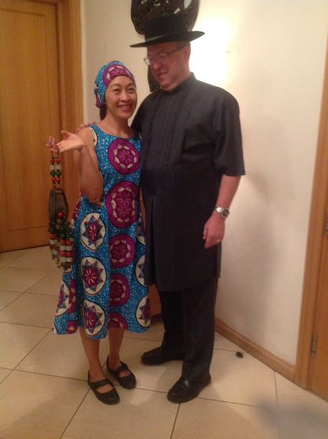 UK Diplomat Andrew Fleming And Wife Are In Full Support Of Made In Nigeria Clothes
