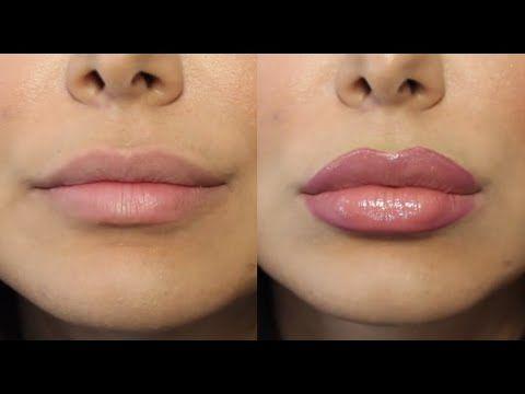 How to Fake a Lip Job (For Real)! \كيفيّة تزييف عمليّة تكبير الشفايف - YouTube