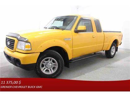 """Truck - 2008 Ford Ranger Sport *MARCHE-PIEDS + COUVRE CAISSE* in Terrebonne, QC  $11,375"""