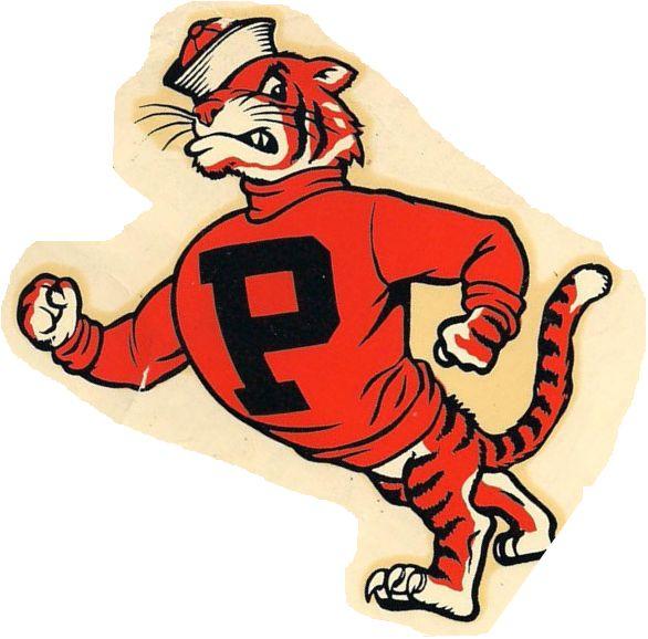 Page Logos Vintage  College Sports 20 Mascot Logos - -