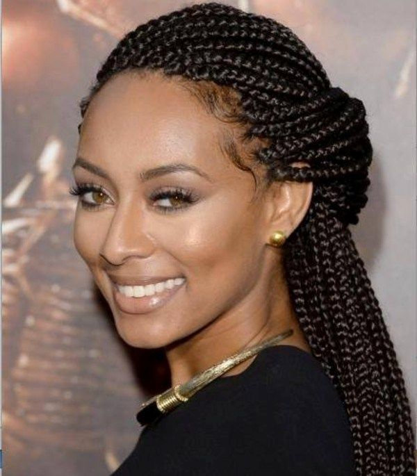 2 french braids hairstyles for black girls