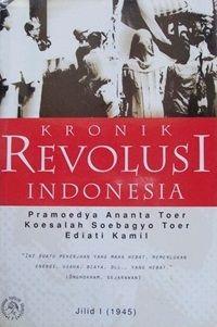 Kronik Revolusi Indonesia, karya Pramoedya Ananta Toer