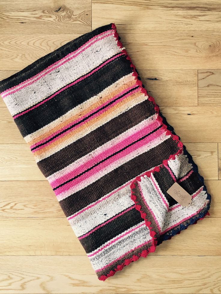Made to Order / Customised Cushion Covers - material: handwoven Peruvian textile (Stripey Frazada/Manta/Blanket/Rug)- HANDMADE by RaicesLifestyle on Etsy https://www.etsy.com/listing/281322246/made-to-order-customised-cushion-covers