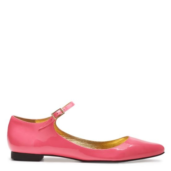 bestill my heart, these shoes are perfectly pink & the ankle strap...  sigh!