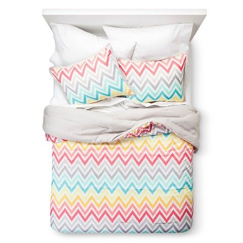 Xhilaration® Printed Chevron Comforter Set