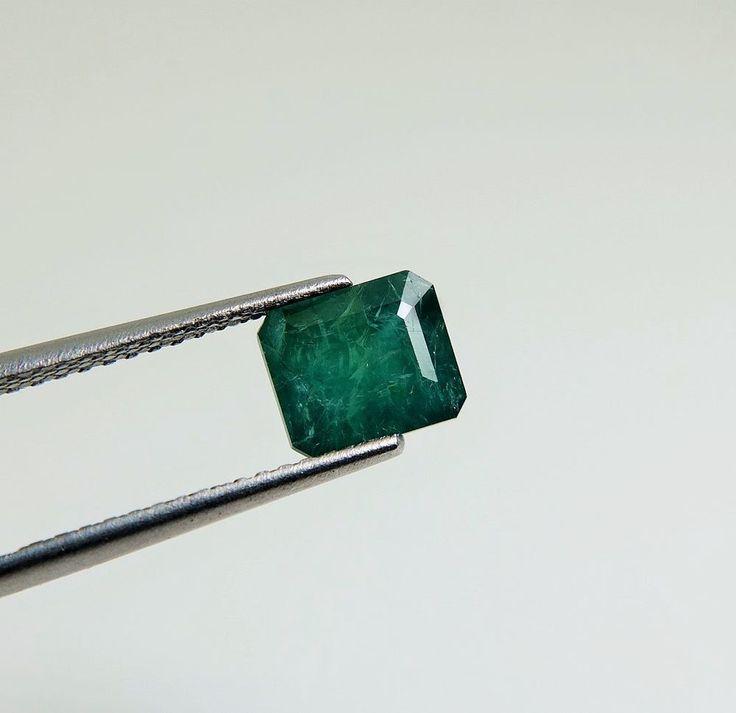3.06ct Good Size RareColor GreenBlue Octagon Cut 9x8mm 100% Natural Grandiderite #NewStone