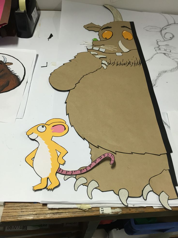 Gruffalo and Mouse in progress...