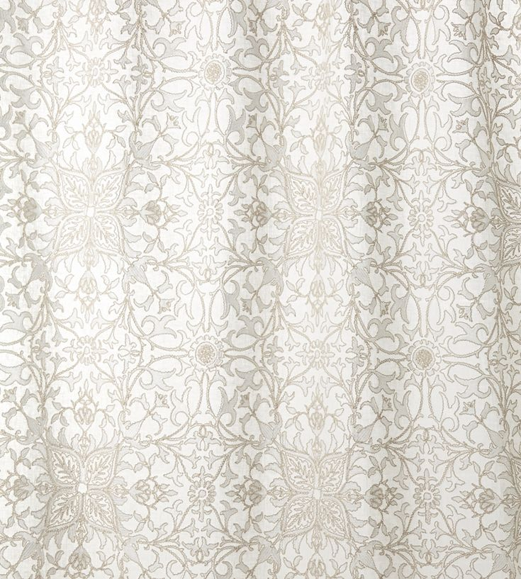 Pure Net Ceiling Embroidery Fabric by Morris & Co   Jane Clayton