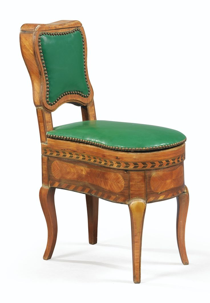 A TULIPWOOD AND PARQUETRY BIDET, LOUIS XV, Sotheby's