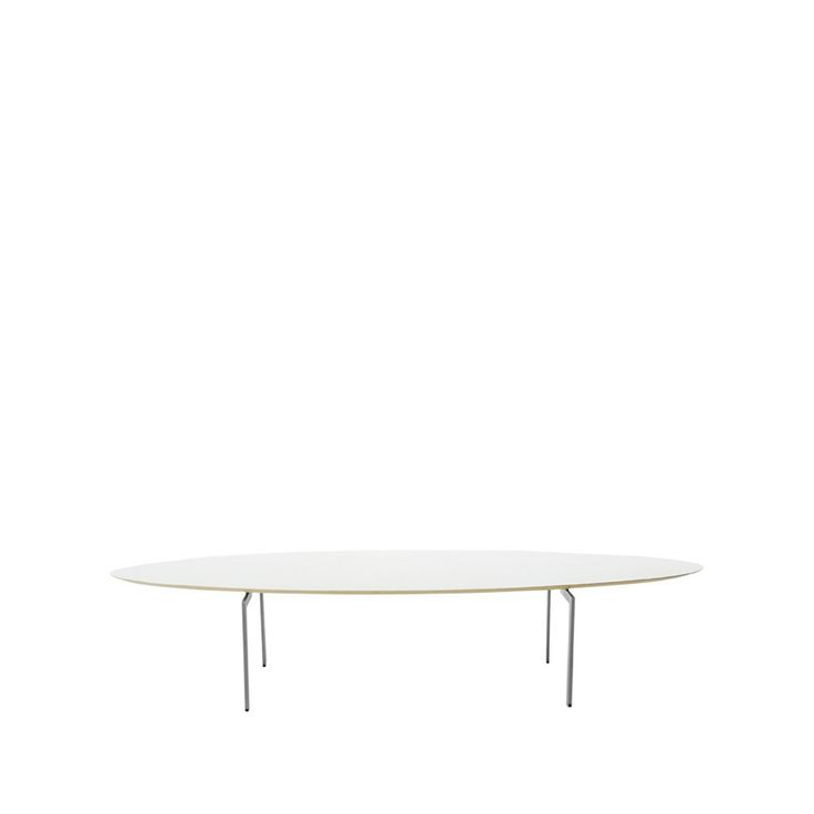 Trippo soffbord - vit laminat, höjd 40 cm