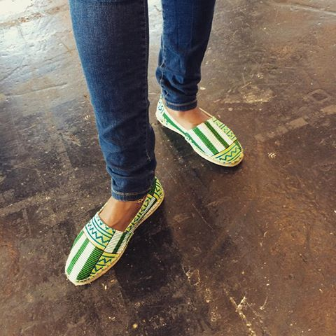 Green is the new Black   Vous aurez la possibilité de les acquérir demain.  Rdv au 24 Rue Basfroi 75011 de 11 à 19h pour l'event @pagnifik   #shoes #tsgr #clothe #espadrilles #handmade #spain #work #green #black #blackandwhite #feet #africa #afro #wax #westafrica #abidjan #paris #french #newcollection #walk #sun #fashion #fashionblogger #france #shopping #party #holiday