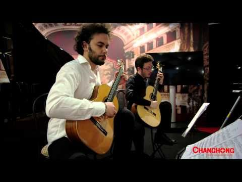 classical guitar - Sforzesco Castle of Milan - Expo 2015