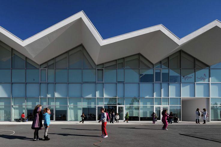 Construido en 2010 en Goães, Portugal. Imagenes por Fernando Guerra | FG+SG. La…