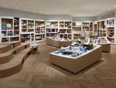 awesome - comic book-inspired retail design   | Tokyo's Tokyo by Ryo Matsui Architects