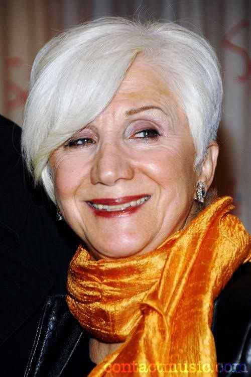 Actress Olympia Dukakis, 82, at a Fundraiser for a NY film - at a showroom in Dallas