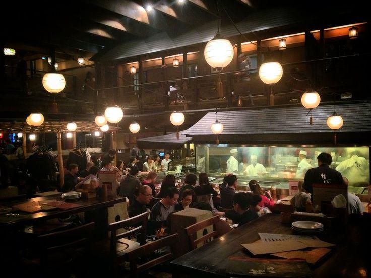 権八 西麻布店 (Gonpachi) in 港区, 東京都 The restaurant from Kill Bill!
