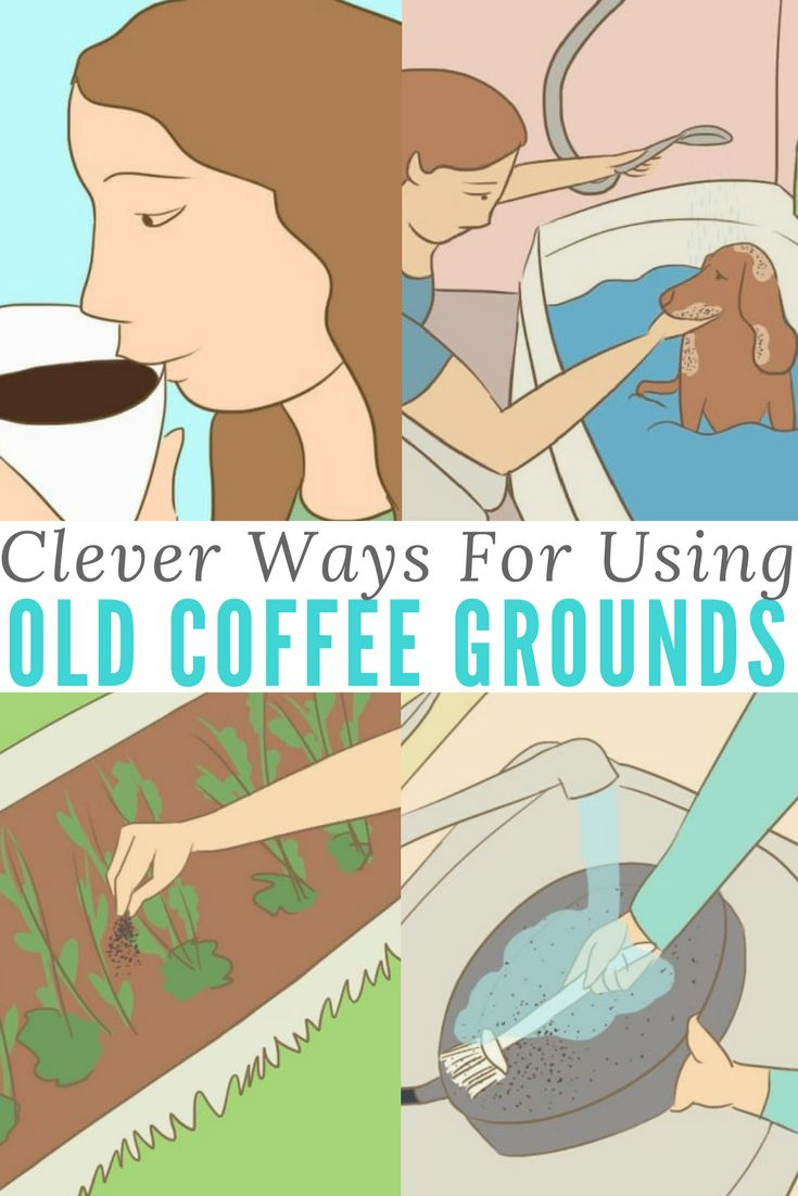 10 Clever Ways To Put Your Old Coffee Grounds To Good Use Tossed Clever And Filter