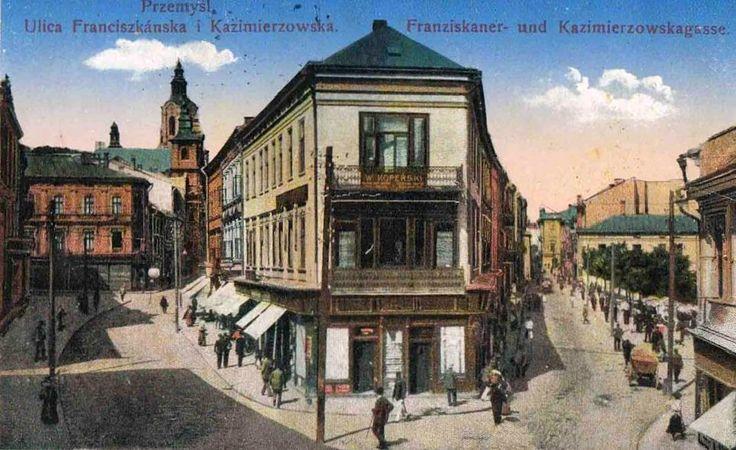 Franciszkańska 33, Przemyśl - 1916 rok, stare zdjęcia