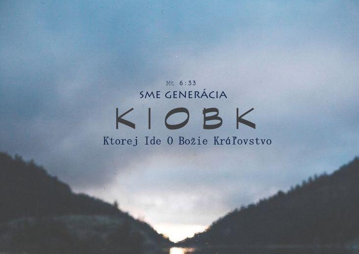 KIOBK Mt 6:33