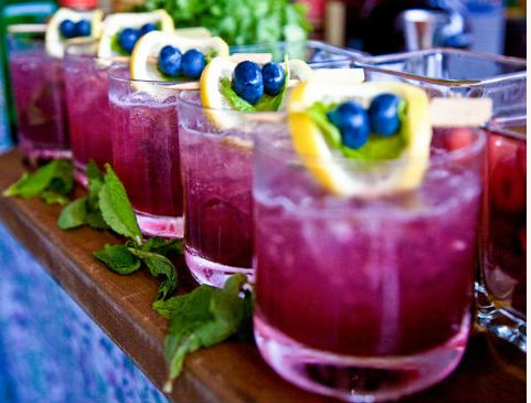 great color palette for #wedding #drinks