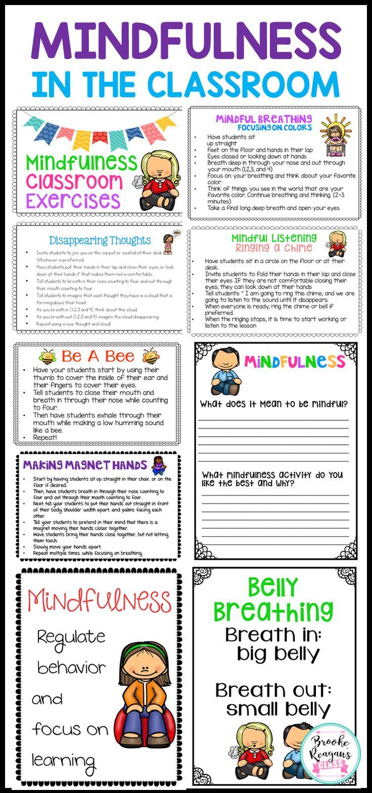 Classroom Break Ideas ~ Best ideas about mindfulness activities on pinterest