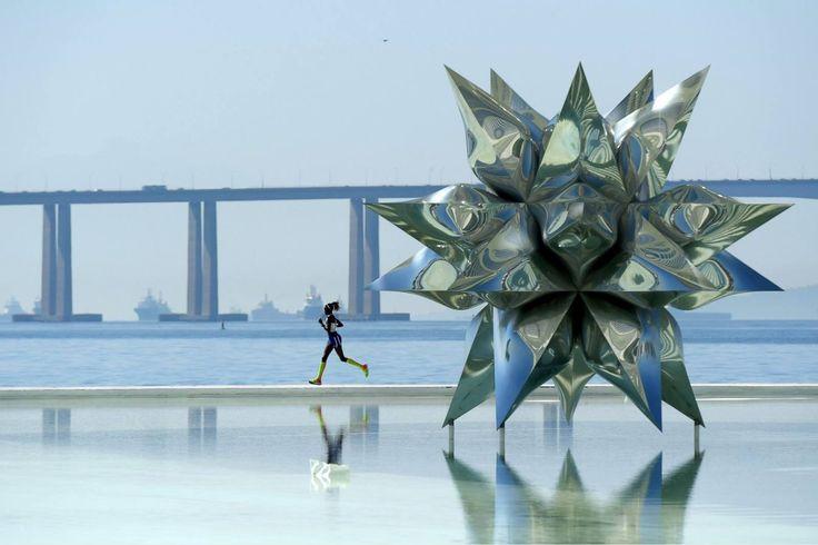 Estrela marinha, Museu do Futuro, Rio de Janeiro, Brasil @Matthias Hangst  Getty Images
