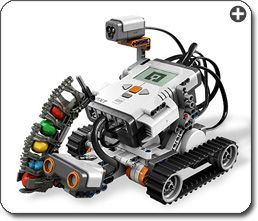 Maybe next year, haha. Lego Mindstorms - you can build programmable robots with these sets