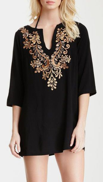 Ibiza Embroidered Tunic