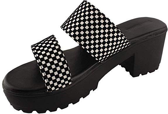 Girl/'s  Open Toe Flat Heel Sandals Navy /& Gold-8120